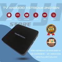 TV Android STB Transvision XSTREAM V2 RAM 2GB New Fullset BNOB Unlock