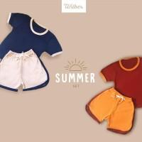 Wilber - Setelan Baju Anak Modis dan Keren Kualitas Ekspor