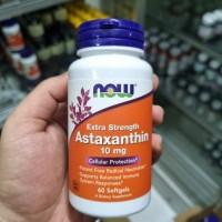 Now Foods Astaxanthin 10mg 60 Veg softgels
