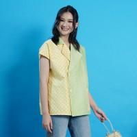 NONA RARA - Nirmala Nebula T0951, Baju blouse batik wanita modern