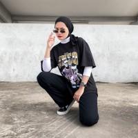 JINISO T-Shirt Vintage Team All Star Oversize Tee   Kaos