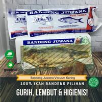 Bandeng Presto Juwana Elrina Vacuum Kering (1 ekor) asli Khas Semarang