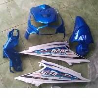 Body halus Honda Beat karbu Biru Putih
