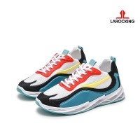 Larocking - Helios Kuning Hijau | Sepatu Sneakers Running Gym Shoes