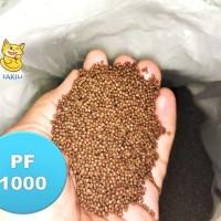 Pelet PF1000 Pakan benih ikan LELE NILA GURAME harga murah repak 1 kg