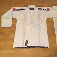 Gi BJJ Atama Dogi Jiujitsu Baju Kimono Brazillian Jujitsu Putih White