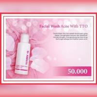 Facial Wash Acne With TTO - ASDERMA AESTHETIC Sabun membersihkan