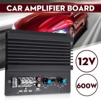 Audew Mono Car Audio Amplifier Board Player Bass Subwoofer 600W C62060 - Hitam