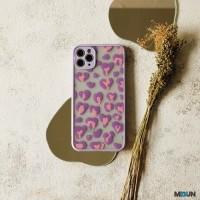 Animal Print 3D Case Softcase - iPhone 6 6S 6+ 6S+ 7 8 7+ 8+ Plus - Purple, 7/8
