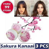 Baby Pink Sakura Kanaai 3 PCS