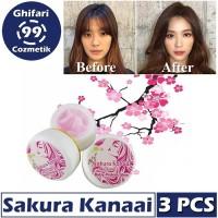 Baby Pink Sakura Kanaai Cream Wajah Glowing 3 PCS