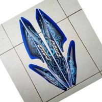 striping motor mio sporty 2011 biru