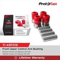 Protoflex Bushing Upper Control Arm Depan (Atas) Innova 04-ON