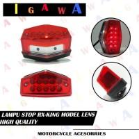 LAMPU STOP LED BELAKANG RX KING / STOP LAMP RX KING UNIVERSAL