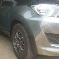 Over fender Datsun Go plus Go+ bahan fiberglass berkualitas tebal kuat