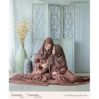 LUNAIRA DRESS MOMS BY JASMINE LIDIAHADIWINOTO - Dark chocolate, XXL