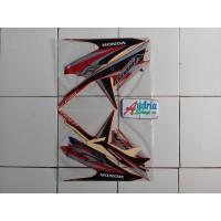 PR0M0!! Stiker Striping Motor Honda Vario Techno Cw FI 125 2014 Merah