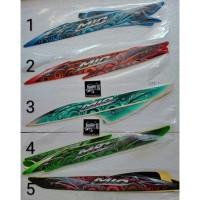 STRIPING MOTOR ATAU STICKER LIS BODY MOTOR YAMAHA MIO SPORTY 2011-2012