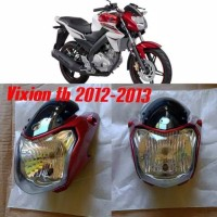 Batok kepala komplit berikut lampu depan Vixion ks th 2012 - 2013