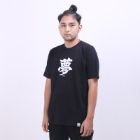 Heyho - T-Shirt Dream Font Black