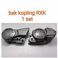 BLOCK COVER BAK KIRI KANAN KOPLING MAGNET RXK RX KING NEW ROBOT