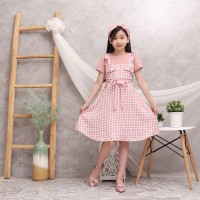 ( 4 - 10 TAHUN ) BAJU DRESS TUNIK FASHION ANAK ANAK PEREMPUAN ZR 532