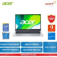 ACER Laptop Swift 1 Fresh SF114-34-P2VU N6000 4GB SSD512 14 FHD IPS