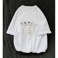 Baju Kaos Wanita Dewasa Murah / Kaos Oblong oversize PRIVE JUMBO