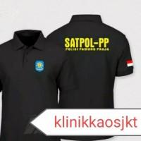 BAJU - KAOS POLO SATPOL PP KEAMANAN - POLO SHIRT SATPOL PP