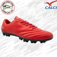 Calci Sepatu Bola Soccer Atom SC - Red - 42