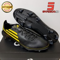 Sepatu Bola - Soccer Adidas F50 X Ghosted Adizero Core Black Yellow FG