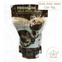 Premium Gula Aren Jawa Cair 1kg - Palm Sugar / Brown Sugar
