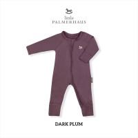 Little Palmerhaus - Sleepsuit (Jumper Bayi) 0-24 Bulan 2.A - DARK PLUM, 12M