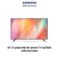 SAMSUNG 43 Crystal UHD 4K Smart TV AU7000