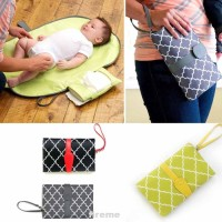 Foldable Baby Kid Changing Mat Pad Cover Change Nappy Bag Travel
