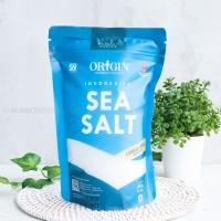 250G SEA SALT COARSE GRAIN GARAM LAUT BERYODIUM - ORIGIN INDONESIA