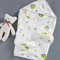 Okaza Newborn Baby Cocoon /Muslin Bedong Instan - A