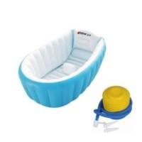 GREEN Paket Intime Baby Bath Tub / Bak Mandi Bayi + BONUS POMPA - PINK