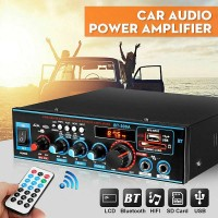 VCACA Car Audio Amplifier Bluetooth 5.0 Stereo 2 Channel 800W BT-309A