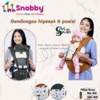 Snobby Gendongan Hipseat 6 posisi seri Swan - hijau tua