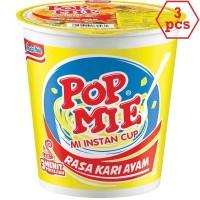 POP MIE Kari Ayam 75g 3pcs