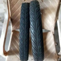 Sepasang ban copotan cacing Ring 17 merk Swallow ukuran 60/90_50/90-17