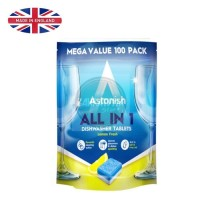 Astonish All In 1 Tablet Pembersih ALL IN 1 DISHWASHER TABLETS 100 PCS