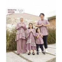 MIDI DRESS ANAK RAYYA SERIES RENATA FAMILY SET/ BAJU PESTA/ BAJU ANAK
