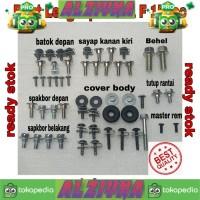 baut lengkap full body satria fu 150cc