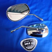 Spion custom oval ouval model harley sportster pnp honda cb tiger kawa