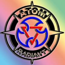 Logo atom sticker