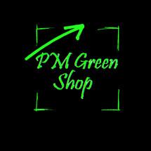 Logo PM green shop