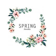 Logo Spring Barrettes