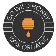 Logo Go Wild Honey Madu Asli